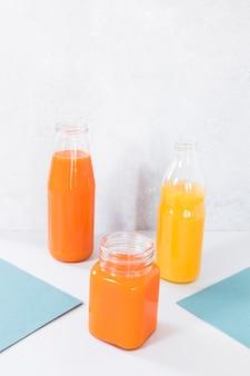 Smoothie de laranja natural