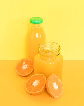 Smoothie nutritivo de laranja