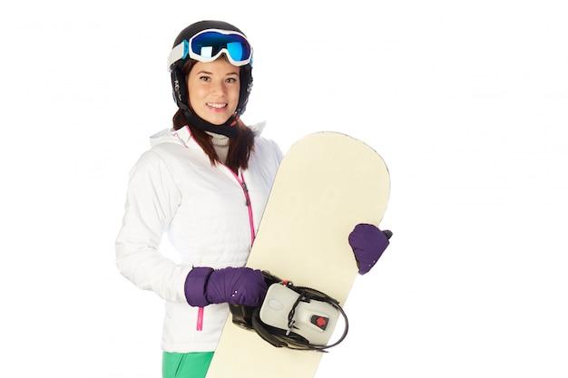 Snowboarder feminino