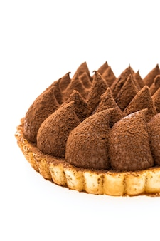 Sobremesa de torta de chocolate