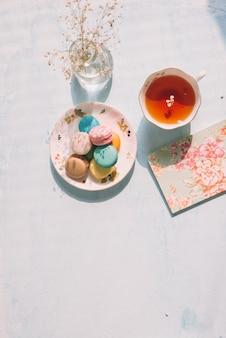 Sobremesa francesa para servir com chá da tarde ou pausa para café.