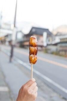 Sobremesa japonesa de sobremesa.