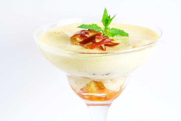 Sobremesa saborosa - mousse
