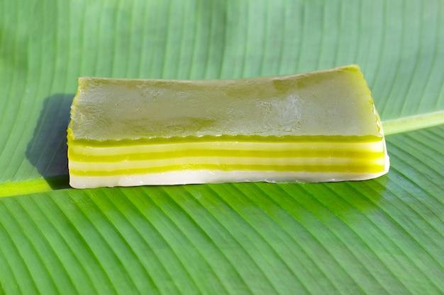 Sobremesa tailandesa, bolo doce de camadas