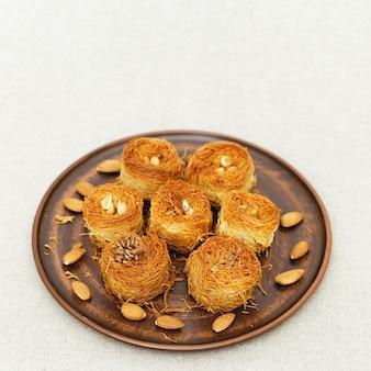 Sobremesa tradicional oriental