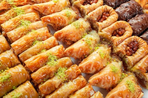 Sobremesa turca baklava