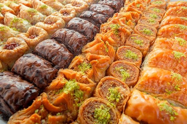 Sobremesa turca de baklava