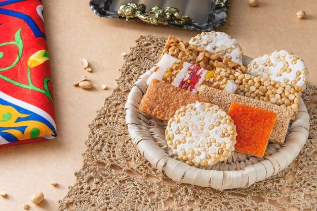Sobremesas da celebração do aniversário do profeta muhammad, cultura egípcia