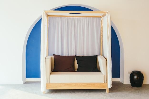 Sofá de loft confortável sofá brilhante