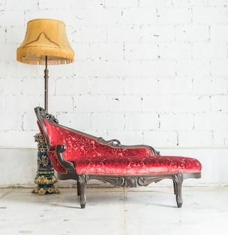Sofá do vintage