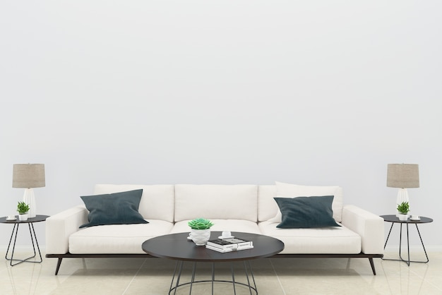 Sofá verde travesseiro sala de estar piso de madeira fundo textura lâmpada moldura