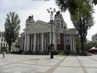 Sofia bulgária, teatro nacional