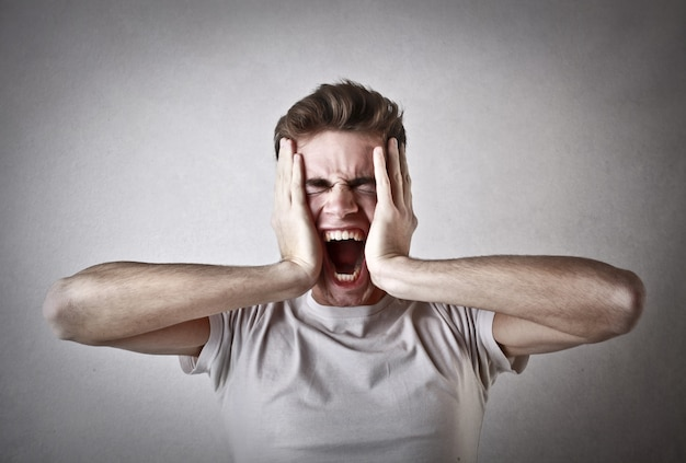 Sofrendo e sendo estressado