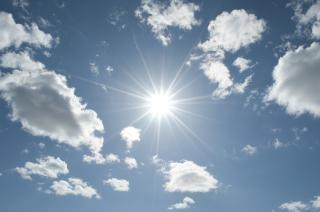 Sol no céu