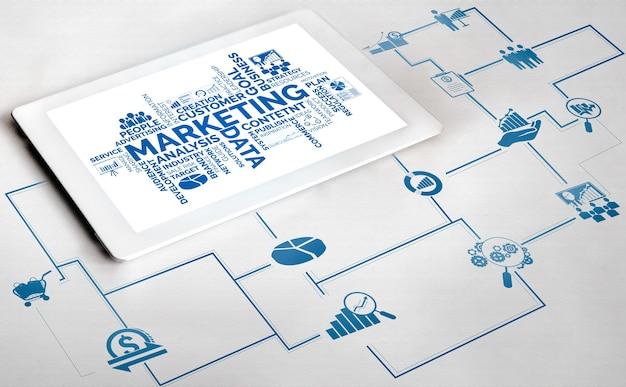 Solução de tecnologia de marketing digital para negócios online