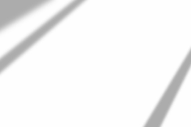 Sombra de sobreposição de janela em fundo de textura branco. use para apresentação de produtos decorativos.