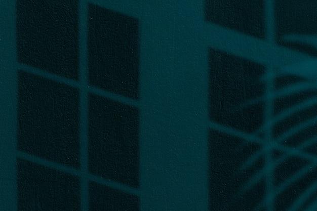 Sombra escura da janela no papel de parede de fundo de textura