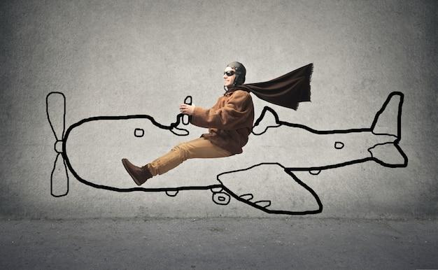 Sonhando com voar