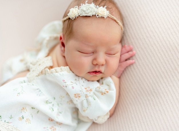 Sonho pacífico do recém-nascido