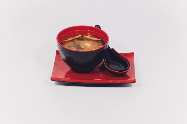 Sopa de missô, comida japonesa