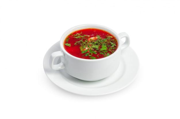 Sopa isolada em um fundo branco