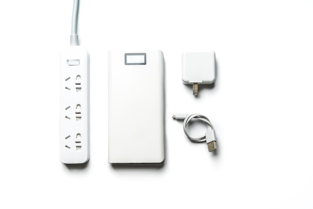 Soquete e plugue barra de energia elétrica. economizar energia e reduzir a eficiência energética