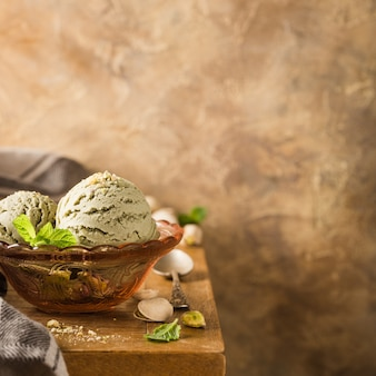 Sorvete de pistache