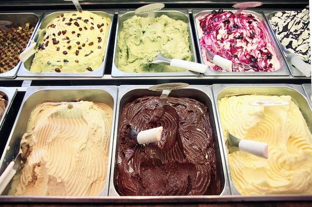 Sorvete na sorveteria
