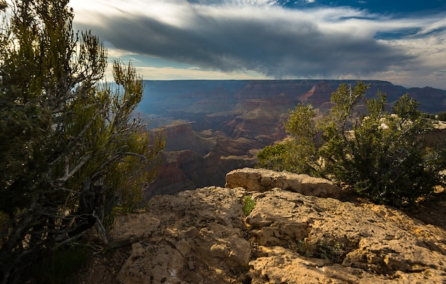 South rim, parque nacional do grand canyon eua