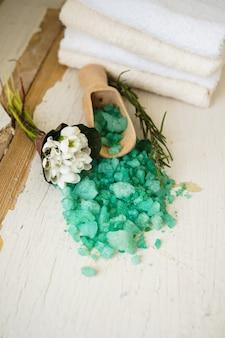 Spa com sal marinho