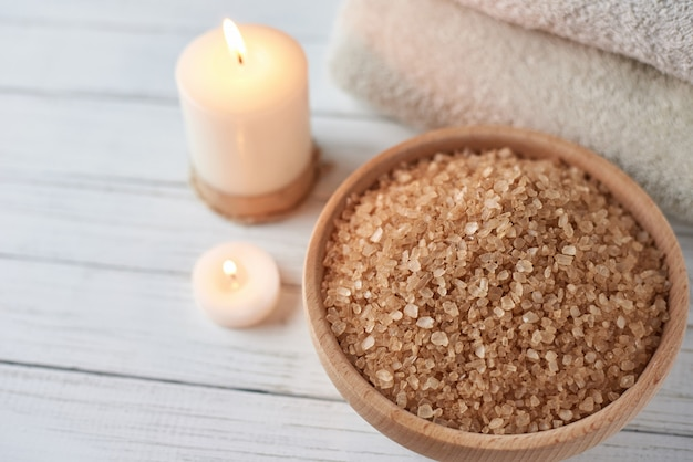 Spa e composição de tratamento cosmético