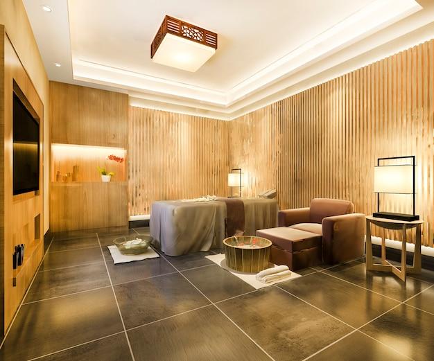 Spa e massagem bem-estar em suíte de hotel
