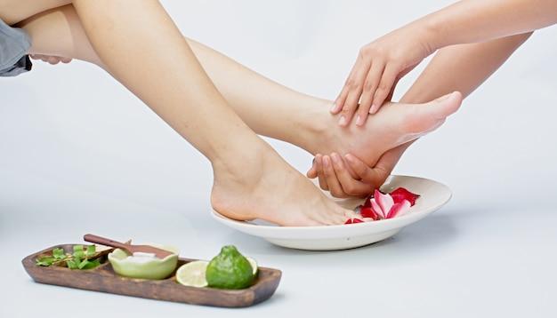 Spa e massagem nos pés
