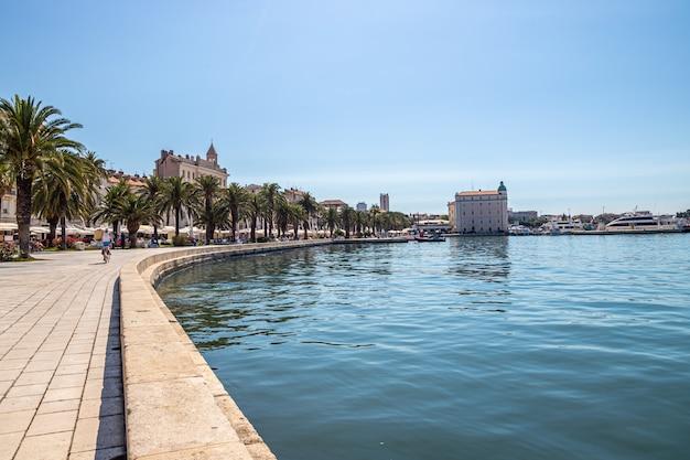 Split croácia porto matejuska mar adriático