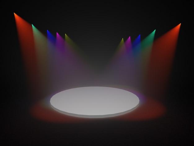 Spotlight, alguns pontos de luz no palco