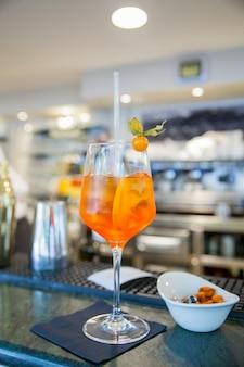 Spritz famosa bebida italiana