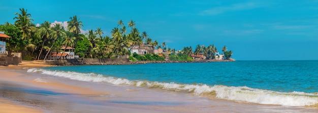 Sri lanka, oceano, praia beruwala