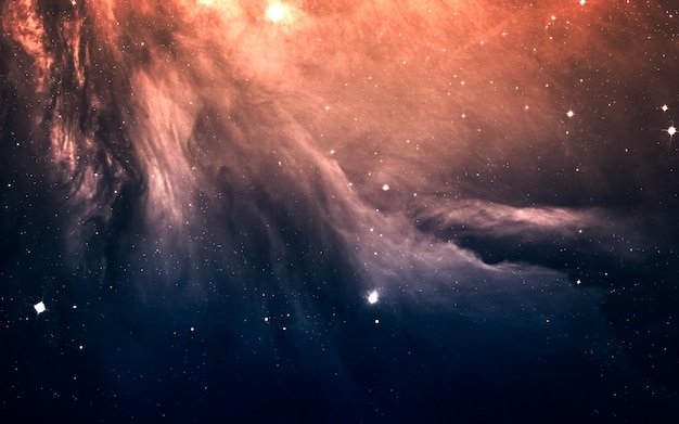 Starfield no espaço profundo
