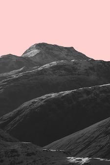Stob dearg em glen coe nas terras altas da escócia, reino unido