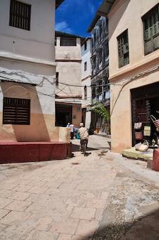 Stone town é a capital em zanzibar, tanzânia
