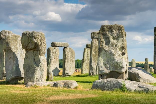Stonehenge, inglaterra, reino unido no verão