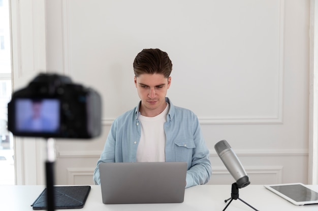 Streaming de gravação freelancer do youtube
