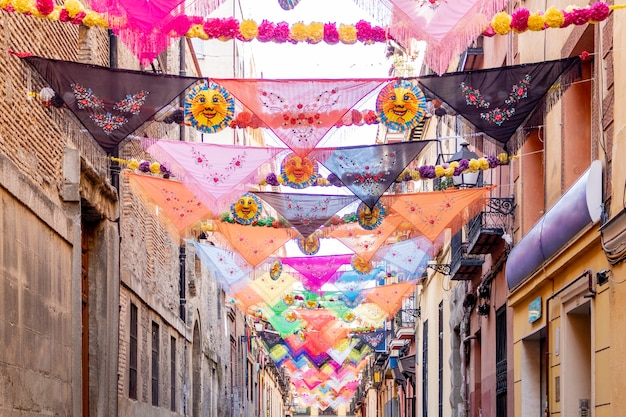 Street view na cidade de madrid