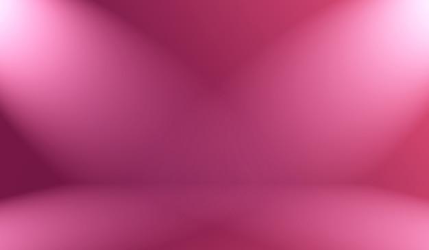 Studio background concept - abstrato vazio luz gradiente roxo estúdio quarto fundo para o produto.