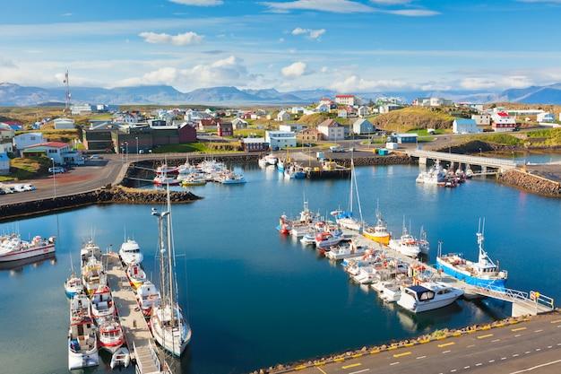 Stykkisholmur, a parte ocidental da islândia