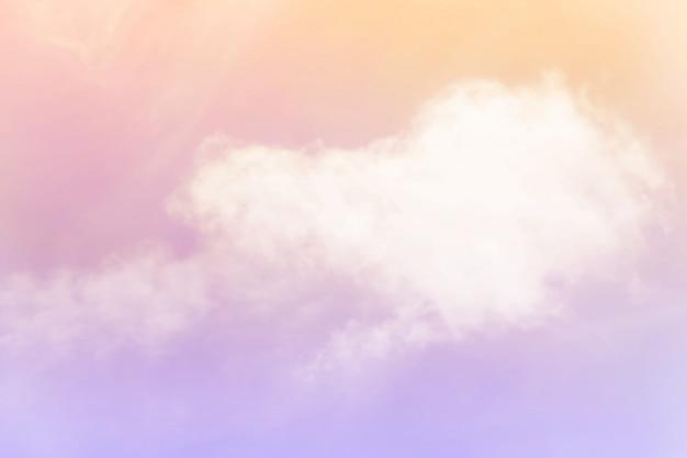 Suave nublado é gradiente pastel, abstrato