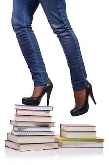 Subindo os degraus do conhecimento - conceito de educação