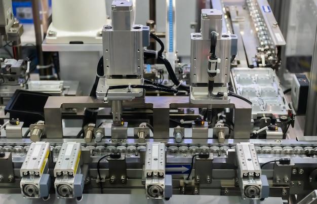 Substituição de robô industrial 4.0 de coisas tecnologia robô futuro braço
