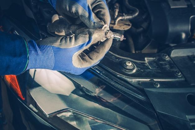 Substituindo o farol do farol do carro