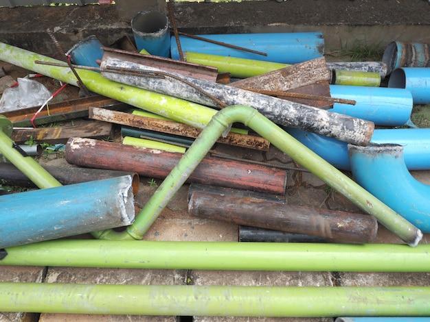 Sucata de tubos de aço